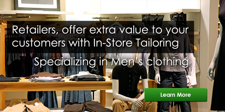 Pittsburgh, Robinson In-Store Contract Tailor