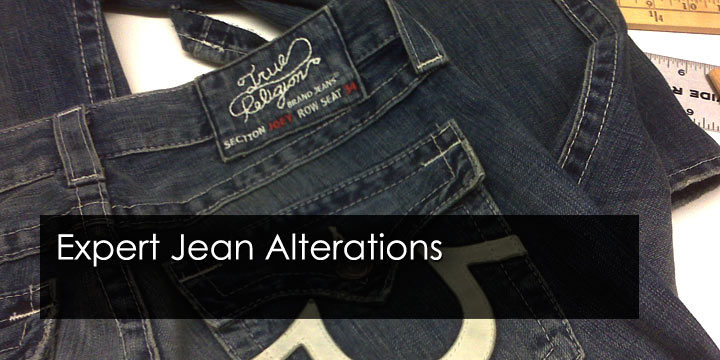 original hem jean alterations